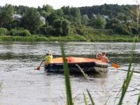 plaukimas plaustu Neries upe