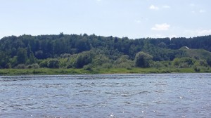 Plaukimas plaustu Pyplių piliakalnis